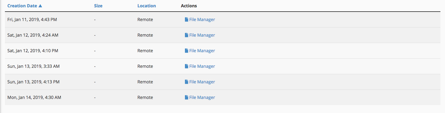 Restaurar archivos con Jetbackup