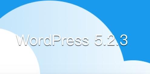 WordPress 5.2.3