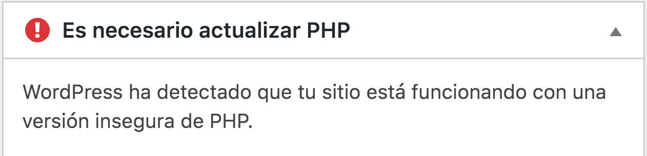 Actualizar a php 7.4