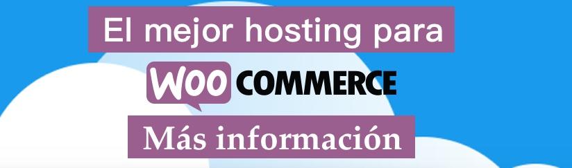 El mejor Hosting para WooCommerce