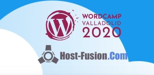 Host-Fusion patrocinador oficial WordCamp Valladolid 2020