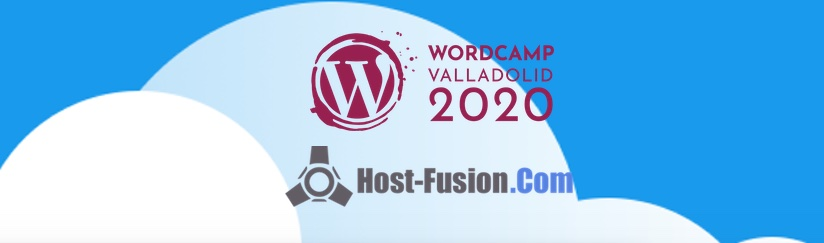 Host-Fusion.Com patrocinador oficial de la WordCamp Valladolid 2020