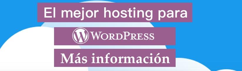 El mejor hosting para WordPress en España 2020