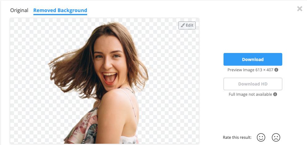 Eliminar el fondo de una imagen automáticamente