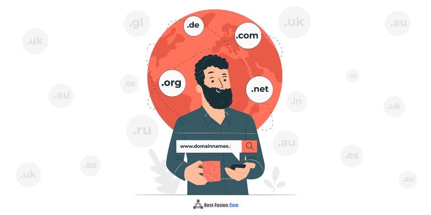 tipo de dominio web