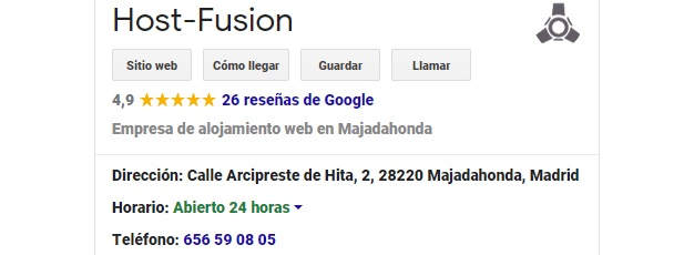 NAP Google my business